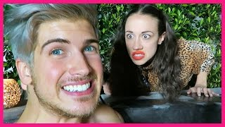 I CAUGHT MIRANDASINGS SPYING ON US!