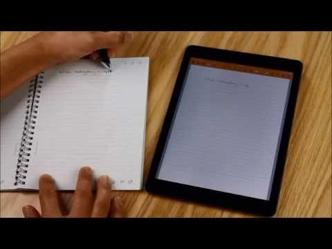 Gebruik Noteshelf met Livescribe 3