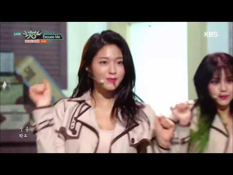 AOA (에이오에이 ) - Excuse Me (익스큐즈미) 교차편집 (Stage Mix)
