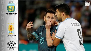 Argentina 2 - 2 Uruguay - HIGHLIGHTS & GOALS - 11/18/19