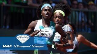 Top 10 Women's 200m in the IAAF Diamond League
