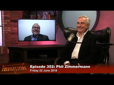 Phil Zimmermann on PGP Cryptography & Privacy