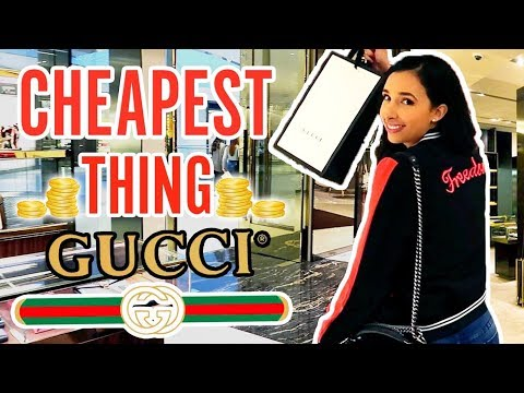 I BUY THE CHEAPEST THING ON GUCCI - And Filmed It With Hidden Camera 📷 | Mariale