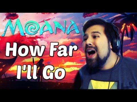 How Far I'll Go (Moana) - Caleb Hyles