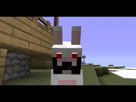 mod lapins cr tins raving rabbids minecraft youtube