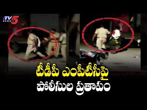 ASI slaps TDP MPTC in Anantapur district, visuals go viral