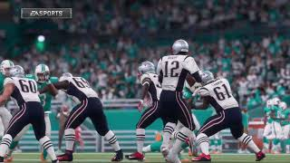 NFL Monday Night Football 12/11 - New England Patriots vs Miami Dolphins - Full NFL Game (Madden 18)