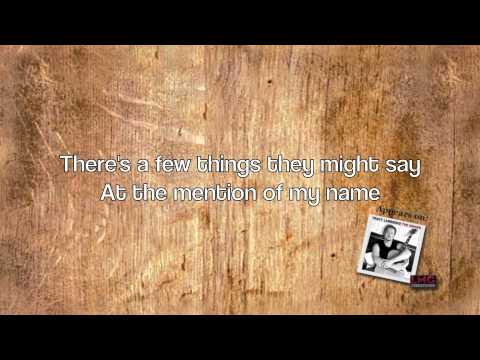 Tracy Lawrence The Singer Lyric Video