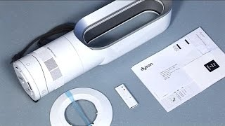 Dyson AM09 Hot + Cool fan heater - Getting started (Official Dyson video)
