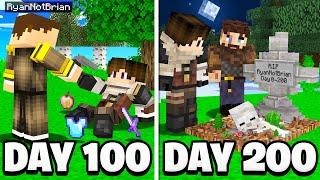 I Spent 200 Days as a Minecraft Bandit...