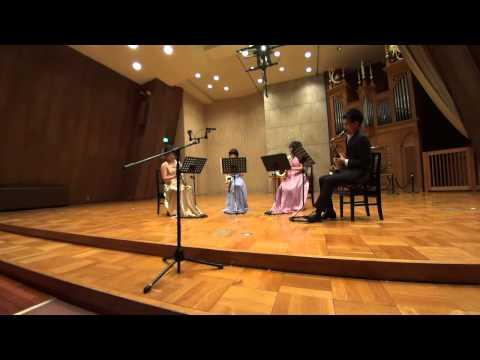 Tsukuba Saxophone Quartet - T.Muramatsu/M.Asari - Far Away
