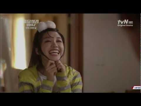 tvN 응답하라 1997.E09. 성동일. 정은지. 까꿍 아빠 나 이쁘나??