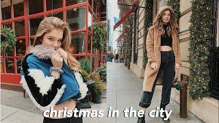 spending christmas in New York City