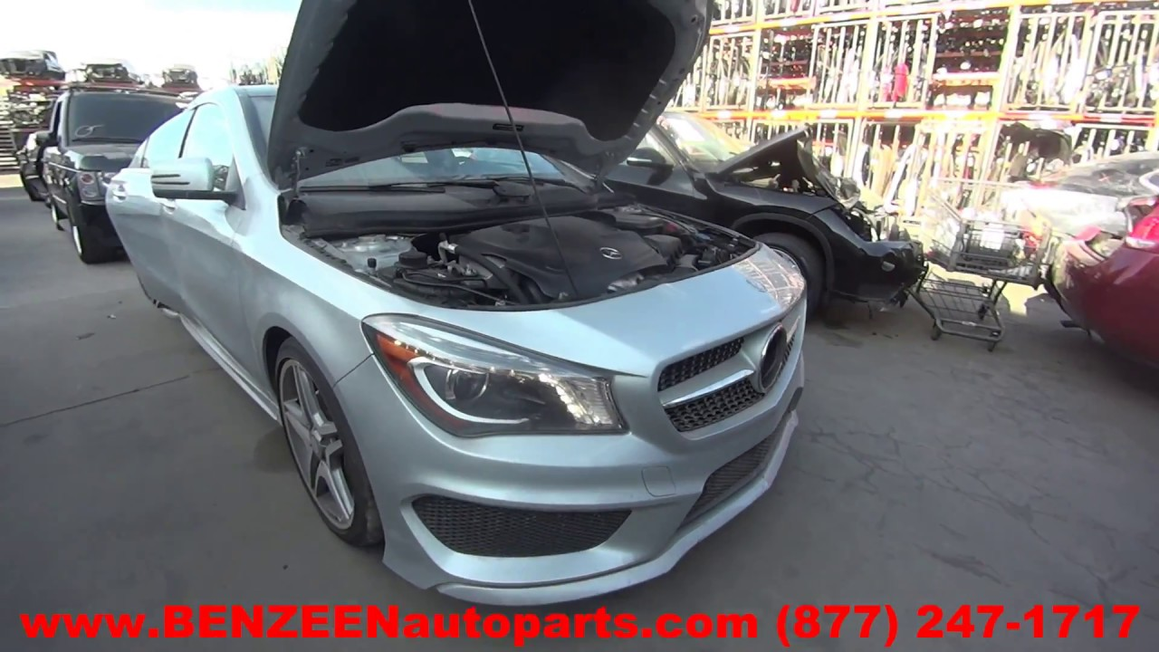 Parting Out 2014 Mercedes CLA250 - Stock - 7382BL - TLS Auto Recycling