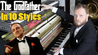 The Godfather Main Theme in 10 Styles