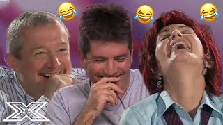 OLD BUT GOLD | Judges TRY NOT TO LAUGH Challenge! | X Factor Global