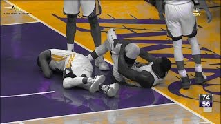 Draymond Green hurt Warriors @ Lakers