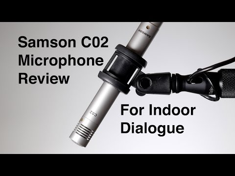 video Samson C02 Pencil Condenser Microphones
