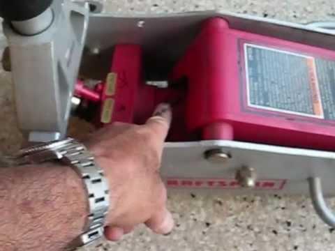 Floor Jack Repair Sears Craftsman 50240 By Froggy Youtube
