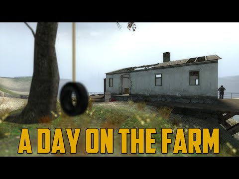 A DAY ON THE FARM (Prop Hunt) - GoldGloveTV  - YE6VZbg6KNY -