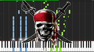 Pirates of the Caribbean Medley [Piano Tutorial] (Synthesia) // Nikodem Lorenz