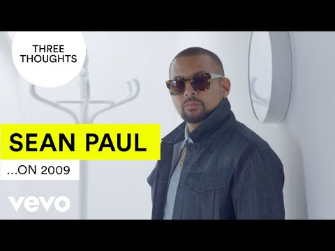 Sean Paul does his very own #TenYearChallenge | Vevo Three Thoughts