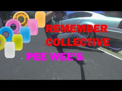 Video REMEMBER PEEWEE 62mm Orange Wheel [x4]