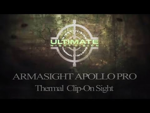 Armasight Apollo Pro Thermal Clip On 7 Hogs Down