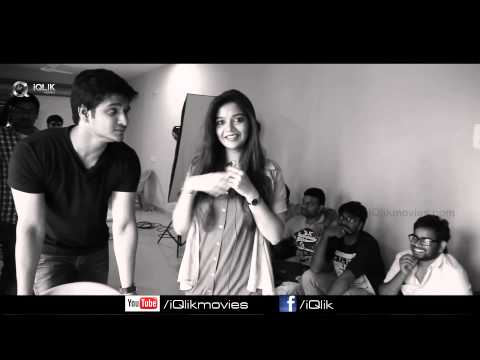 Karthikeya-Movie-Poster-Making-Video---Nikhil--Colors-Swathi