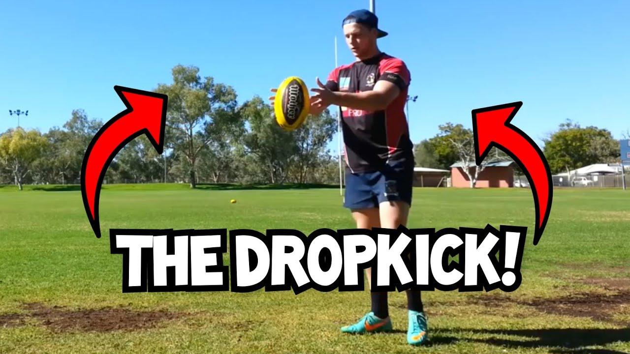 HOW TO DO A DROP KICK