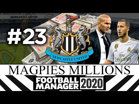 MAGPIES MILLIONS | NEWCASTLE UNITED | #23 | Football Manager 2020