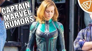 What Captain Marvel's New Rumors Mean for the MCU! (Nerdist News w/ Dan Casey)