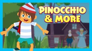Pinocchio & More - KIDS STORIES    Kids Hut Storytelling - Animated Stories For Kids