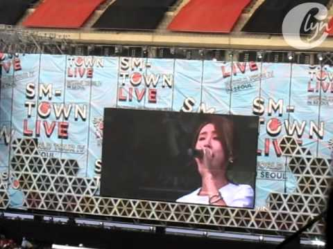 2014.08.15 SMTOWN Live in Seoul - Zhang Liyin - 爱的独白 (Agape)