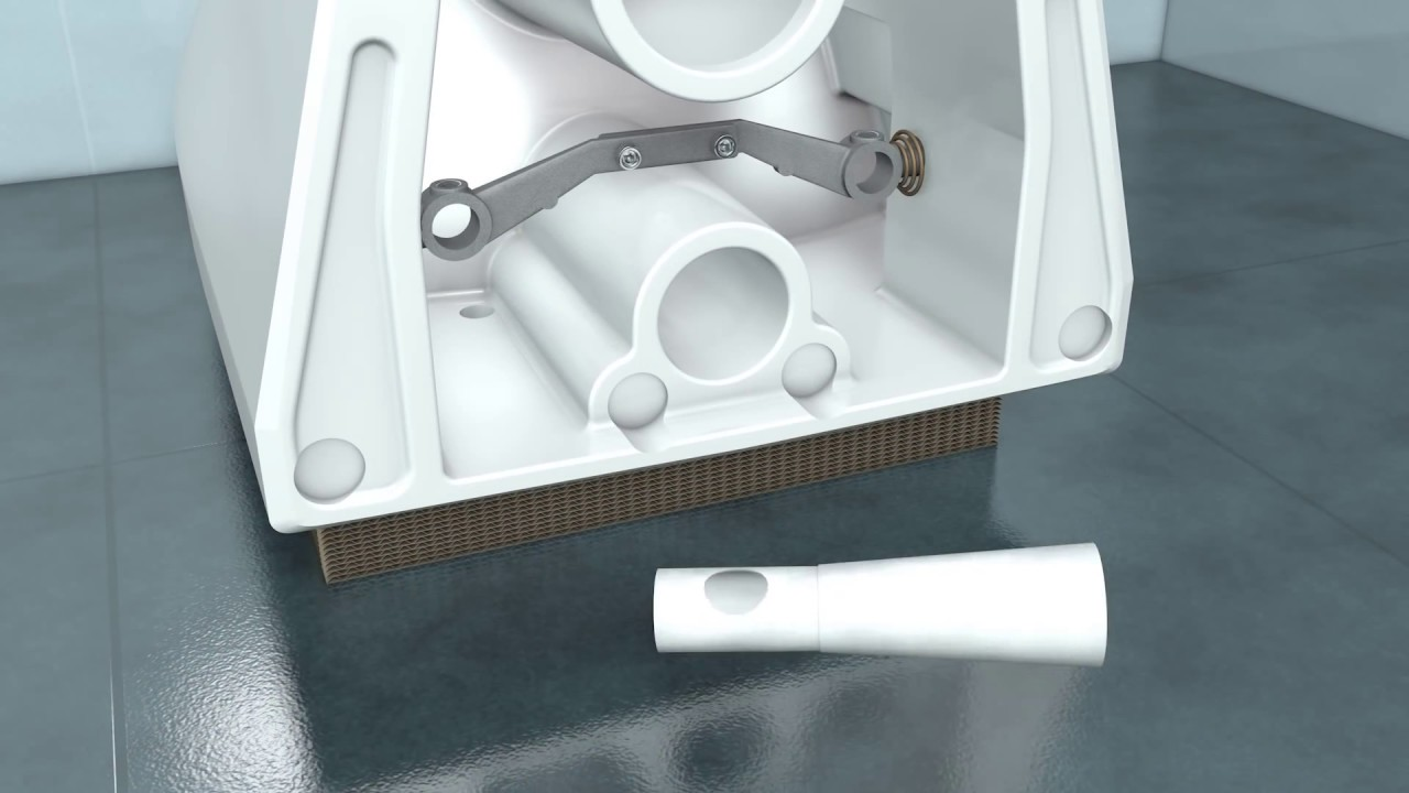 durastyle wand wc befestigung durafix youtube. Black Bedroom Furniture Sets. Home Design Ideas