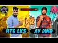 HTG LKS vs @Gaming With Dino 1vs1 | Friendly Match | Free Fire telugu | HELLO TELUGU GAMER'S