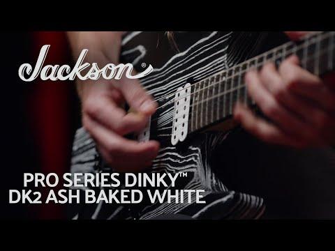 Jackson Pro Series Dinky DK2 Ash, Ebony Fingerboard, Baked White