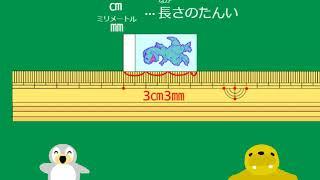 【小2算数】p.8 長さ(㎝と㎜)