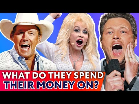 Top 10 richest Country Stars: what to spend money on?   ⭐OSSA