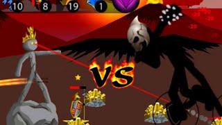 4 Statue Turrets vs FINAL BOSS (INSANE!) Stick War Legacy