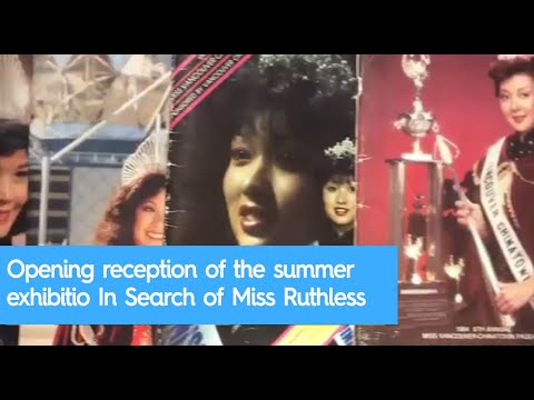 Opening reception of the summer exhibition In Search of Miss Ruthless at Para Site