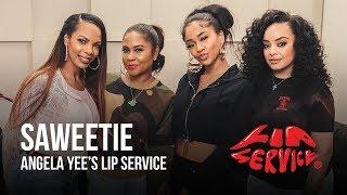 Angela Yee's Lip Service Feat. Saweetie