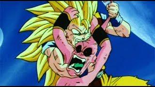 GOKU'S BRUTALITY ON KID BUU - Dragon Ball Z