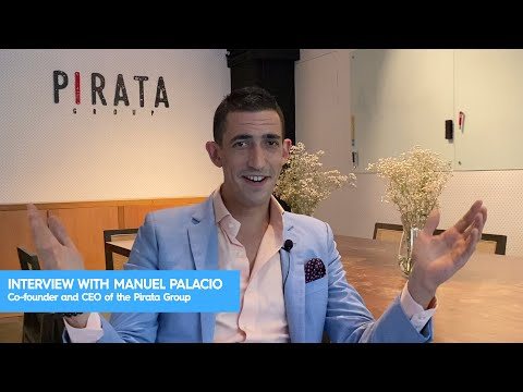 Manuel Palacio Interview - Co-founder and CEO of the Pirata Group
