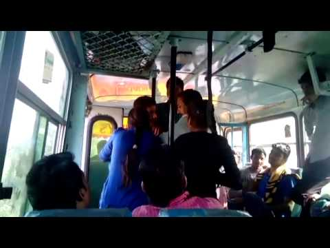 Sisters thrash molester in Haryana Bus - Video