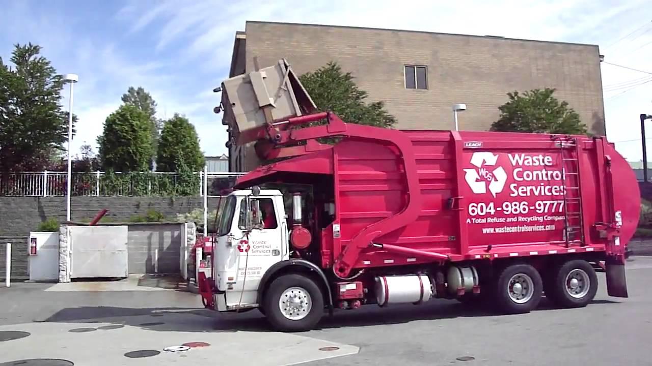 garbage truck - YouTube
