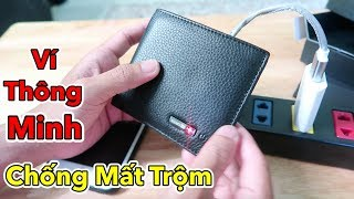 Lâm Vlog - Dùng Thử Ví Thông Minh Chống Mất Trộm Giá 400k | Smart Wallet $20