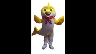 Baby Shark Mascot Costume Rentals Adult Sized! https://funfactoryparties.com/