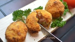 "Phillips AirFryer Recipe - How to Make Italian Arancini ""Stuffed Rice Balls"" aka Rice Croquettes"