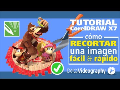 INTERMEDIO) TUTORIAL 16 Corel Draw X6, X7: Cómo recortar imágenes ...